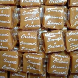 VANILLA CARAMELS WRAPPED