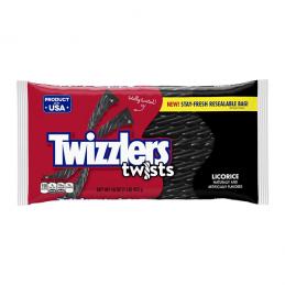 TWIZZLERS BLACK LICORICE 16 OZ BAG