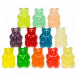 12 FLAVOR GUMMI BEARS 5 LB BAG