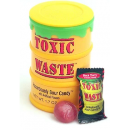SOUR CANDY DRUM TOXIC WASTE...