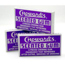 CHOWARDS SCENTED GUM 8 PCS