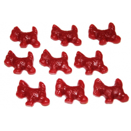 LICORICE RED SCOTTIE DOGS