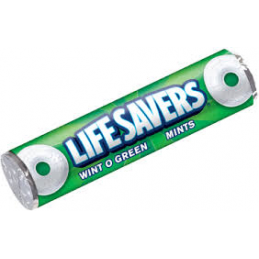 LIFESAVERS WINT O GREEN