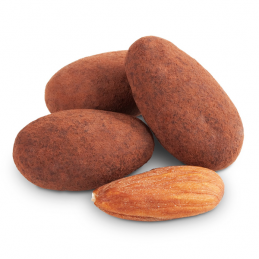 MC COCOA DUSTED ALMONDS