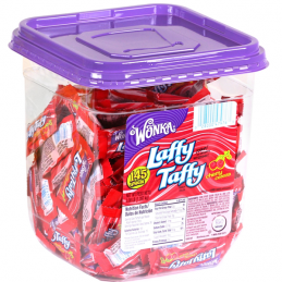 LAFFY TAFFY TUB CHERRY 145 CT