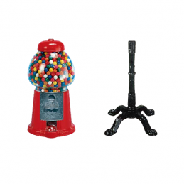 KING GUMBALL MACHINE WITH...