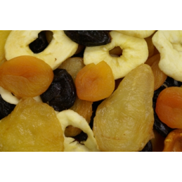 MIXED FRUIT DRIED UNSWEETENED