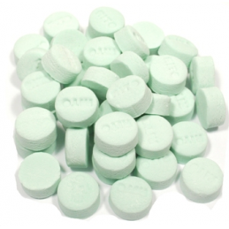 LOZENGES SPEARMINT GREEN