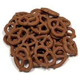 MINI CHOCOLATE GRAHAM PRETZEL