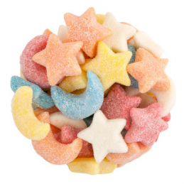 GUMMI SOUR STARS & MOONS