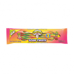 WARHEADS SOUR TWISTS 2 OZ