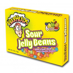 WARHEADS SOUR JELLY BEANS...