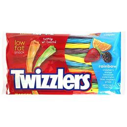 TWIZZLERS RAINBOW 12.4 OZ BAG