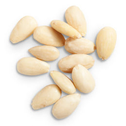 ALMONDS WHOLE BLANCHED RAW