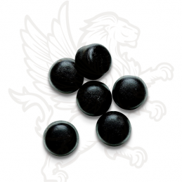 LICORICE BUTTONS BLACK